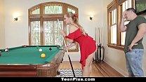 TeenPies - Sexy Blonde Sloan Harper Begs Boyfriend For Creampie