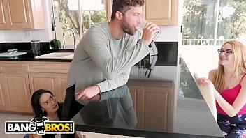 BANGBROS - Petite Latina Tia Cyrus Fucks Her Roommate's Boyfriend