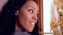 DaneJones Creampie for cute young black girl