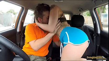 Alessa Savage pounded by her instructor 5 min