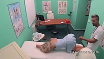 Big ass blonde patient bangs doctor (Stор Jerking Off! Join Now: HotDating24.com)