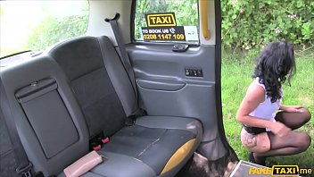 Sex mad busty MILF fucked in her ass by a taxi driver 6 min