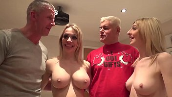 Christmas Dreams Cum True in FUCK A FAN Chessie Kay & Jessica Jensen TAG TEAM Lucky Danny!