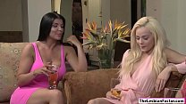 Elsa and Romi eating each others pussy