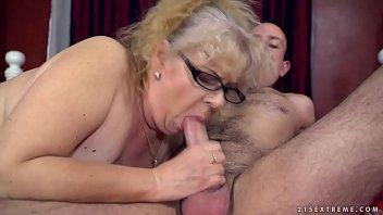 Naughty Granny's sexual pleasures