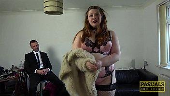Submissive BBW Estella Bathory punished by Pascals cock
