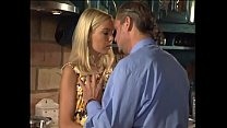 A blonde a little whore bangs with the master of the house