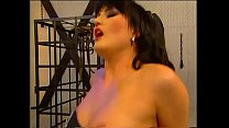 Brunette milf in sexy black lingerie ask for a hard cock in her ass!