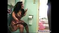 Midget bathroom Fuck
