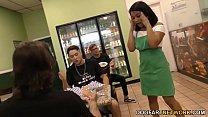 Ebony Loni Legend Interracial Gangbang