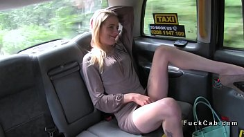 Skinny blonde fucks in cab for free ride (Stор Jerking Off! Join Now: HotDating24.com)