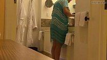 Câmera escondida no banheiro da tia