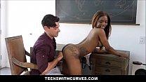 Hot Black Teen Big Tits Makes White Guys Dream Come True