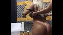 Yenys Olmedo modelo paraguaya desnudandose en la radio