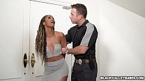 Misty Stone Is Under House Arrest So She Makes The Best Of It