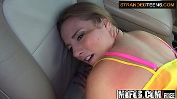 (Sam Summers) - Big Titted Teen Takes a Ride amp; Gets Fucked - Stranded Teens