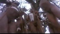 African tribal ritual 2 min
