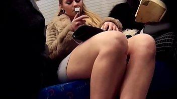 Legs Groping in train