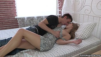 First anal date with gorgeous teen model Krystal Boyd