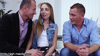 Teen Step-Daughter DP Banged by Dad & Therapist