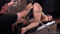 Big ass slave anal tormented