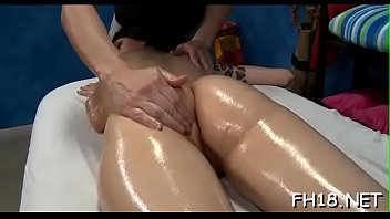 Girl screwed after fleshly massage given by jake