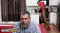 BANGBROS - Brandi Bae Gets Dicked Down By Her Father's Black Friend