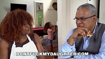 DON'T FUCK MY DAUGHTER - Black Teen Kendall Woods Fucks Her Father's Friend, Jax Slayher