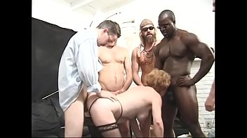 Granny Diana Richards with lot of apetite loves to take it from black to white men 37 min