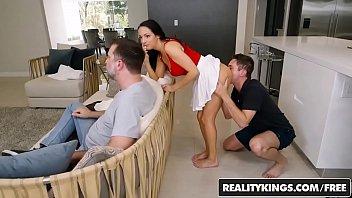 Reality Kings - Sneaky Sex - No Fucking Around - (Sofi Ryan, Brad Knight)