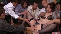 Maki Hojo tries more than one cock in serious porn scenes  - More at Pissjp.com