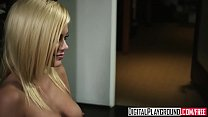 Blonde bombshell (Riley Steele) wants some cock - Digital Playground