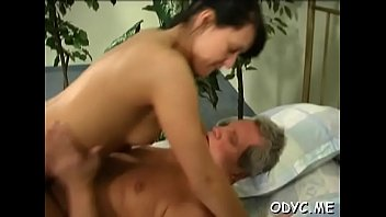 Aged dude gets his old knob wet by fucking a y. chick
