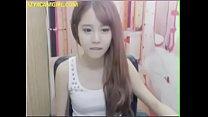 pretty Korean camgirl