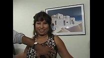 Black and Indian man fuck Mexican Granny bbw