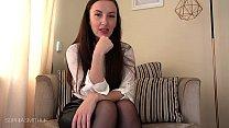 Sophia Smith JOI Encouragement Upskirt and Stockings 11 min