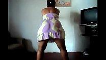 Tia coroa e rabuda dançado funk - videosadultos18.com