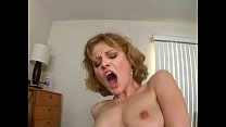 Sexy MILF Emily Evermore takes big cock doggystyle on the bed