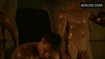 Naked actors in Spartacus