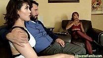 Mom tells stepdad to fuck her daughter