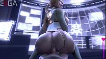 3d-hentai huge ass pov anal creampie