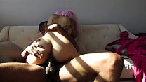 pink hair asian getting cream pie by bbc