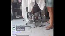 Boquete para o cabelereiro dotado