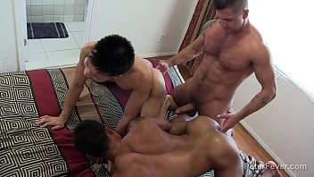 Kinky Threeway Latino Asian with Golden Showers
