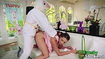 Innocent Teen Birth's Pascua Bunny Fucking: Full HD FamilyStroke.net