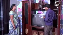 Desi Aunty Romance with cable boy