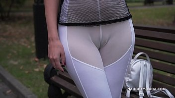 See-through outfit in public 84 sec