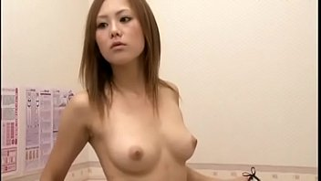 Hot Japan lady trying out lingerie