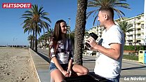 Hot Czech amateur Mea Melone let stranger found on the street fuck HER PUSSY