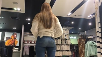 Store Worker Booty Jeans